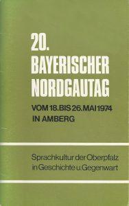 1974 Nordgautag Amberg