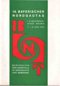 1972 Nordgautag Weiden Oberpfalz